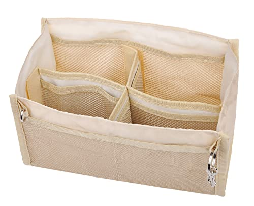 Vercord Oxford-Cloth Purse Handbag Organizer Insert Cosmetic Makeup Storage Bag In Bag Fit Speedy