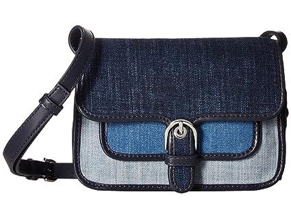 284db13f79eb Amazon.com  Michael Kors Cooper Small Crossbody Handbag in Indigo Light  Denim Washed Denim  Everything Else