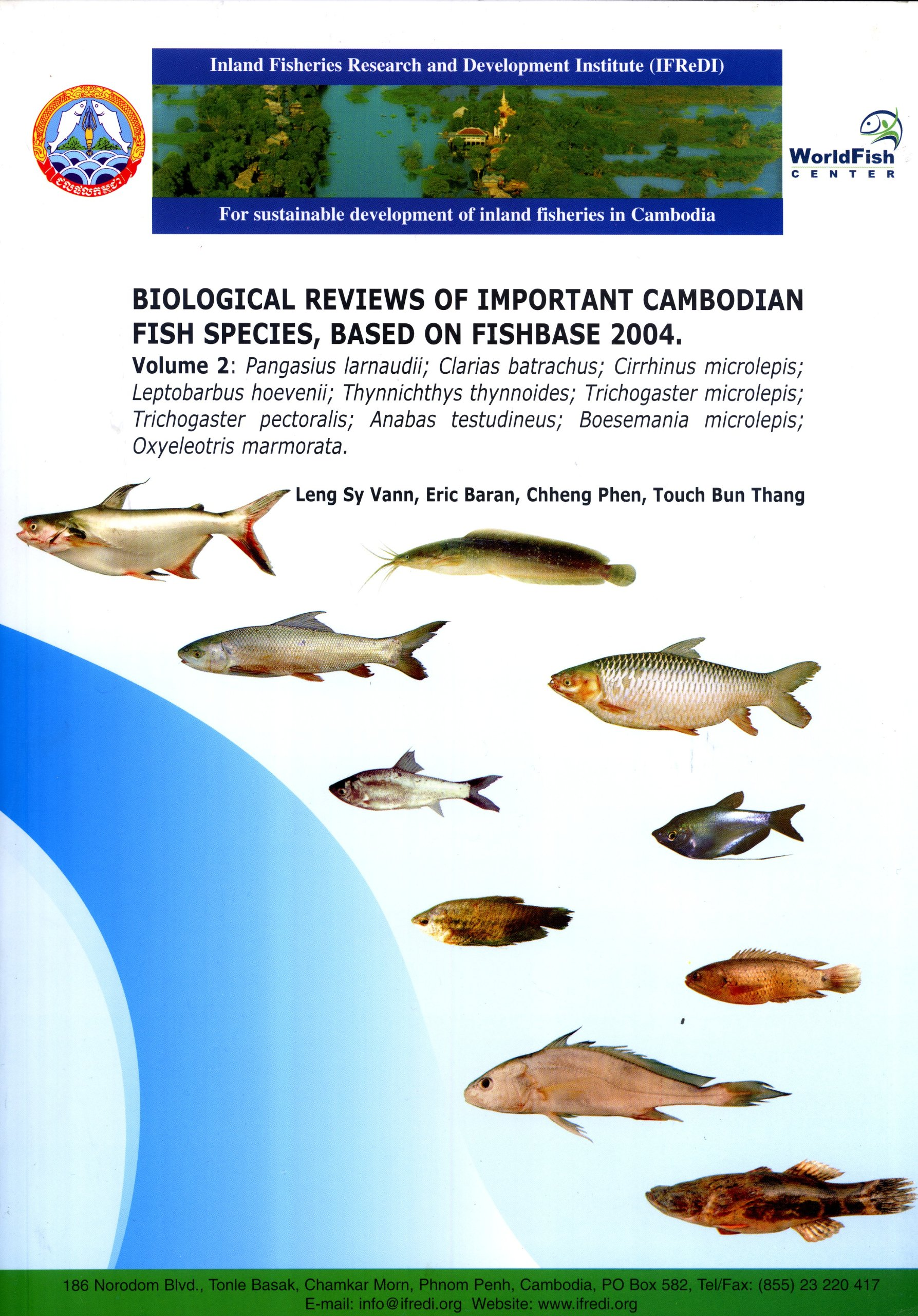 Biological Reviews of Important Cambodian Fish Species