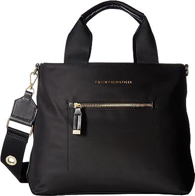 30607ef0eac Tommy Hilfiger Women's Raina Convertible Shopper Nylon Black One ...