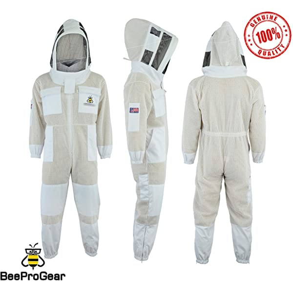 Humble Bee 420 Traje de Apicultura Aireado con Velo Redondo ...