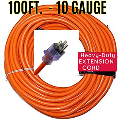 100FT. - 10 GAUGE H/DUTY EXTENSION CORD by Century Wire on