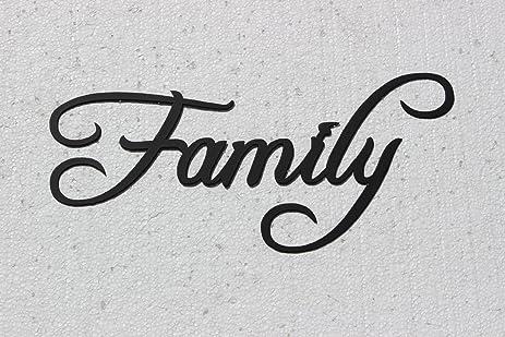 Amazon.com: Family Word Home Decor Metal Wall Art: Home & Kitchen