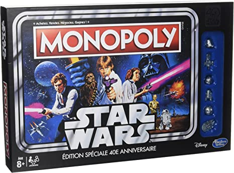 Hasbro – c19901010 – Monopoly Star Wars 40 años de: Amazon.es: Juguetes y juegos