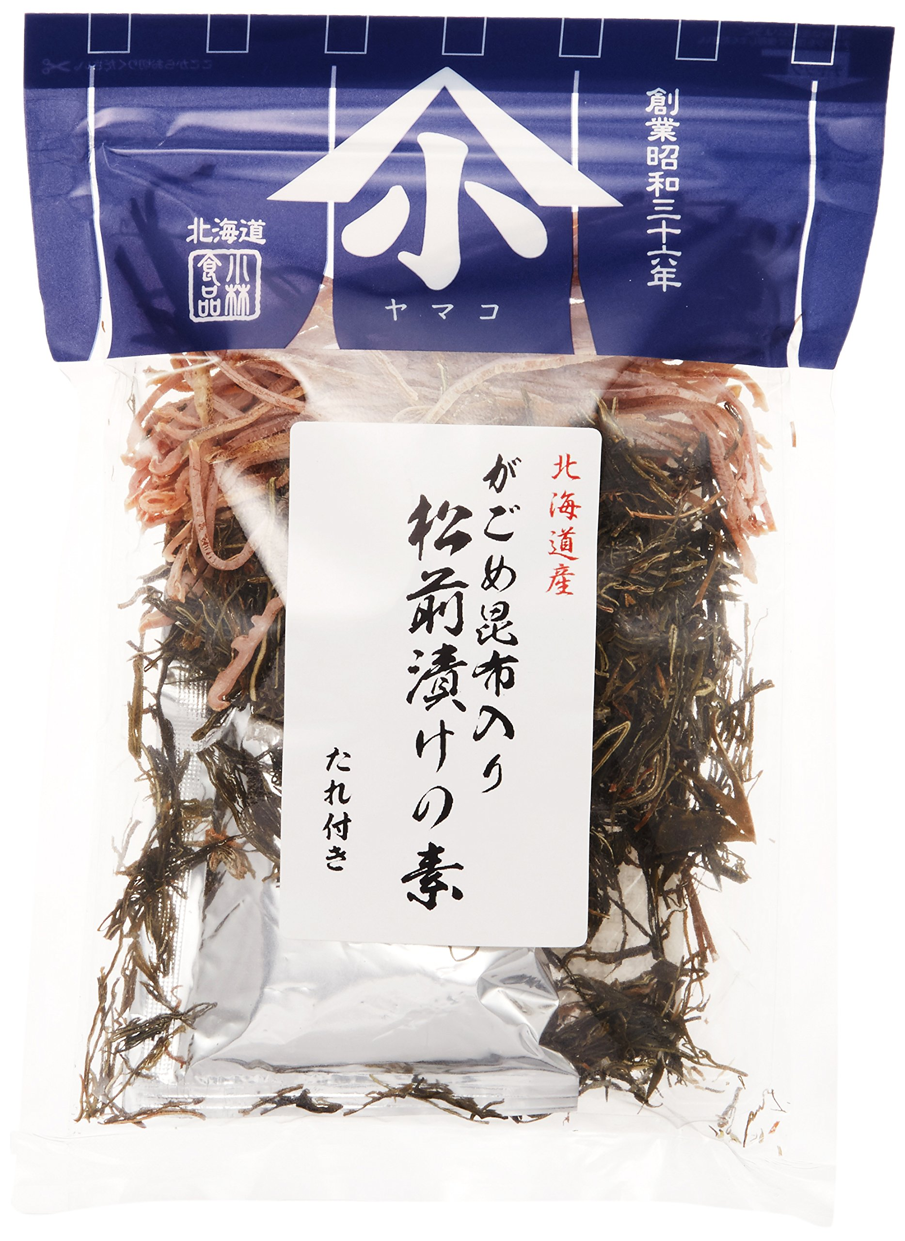 100gx5 one element of Kobayashi food mountain kelp-filled matsumaezuke by Small mountain Kobayashi food