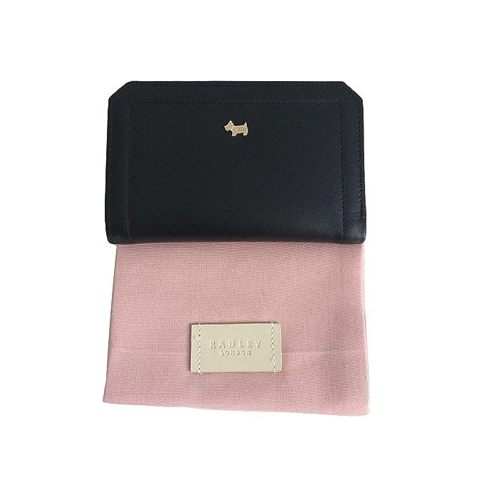 2606494107c8 Radley Marwood Medium Black Leather Bifold Wallet/Purse, RRP £72.00:  Amazon.co.uk: Luggage