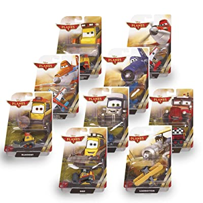 Disney Planes Fire and Rescue Supercharged Dusty Die-cast Vehicle: Toys & Games