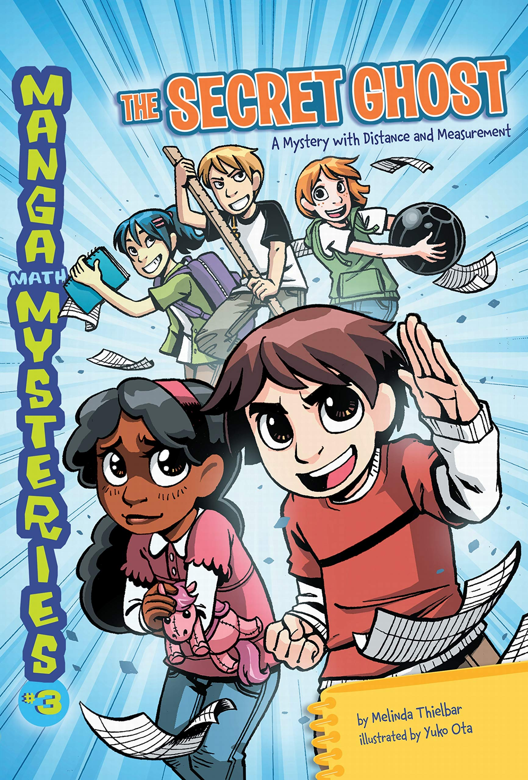 Manga Math Mysteries 3: The Secret Ghost: a Mystery With Distance and Measurement ebook