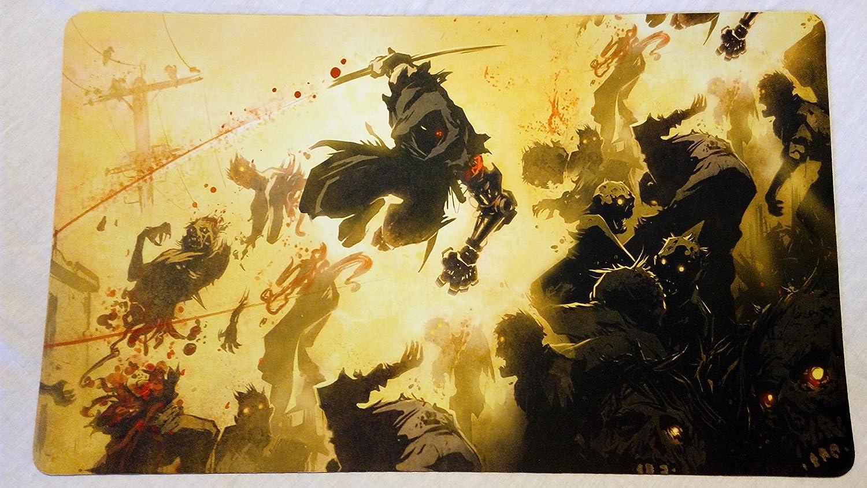 Ninja Gaiden Yaiba TCG playmat, gamemat 24
