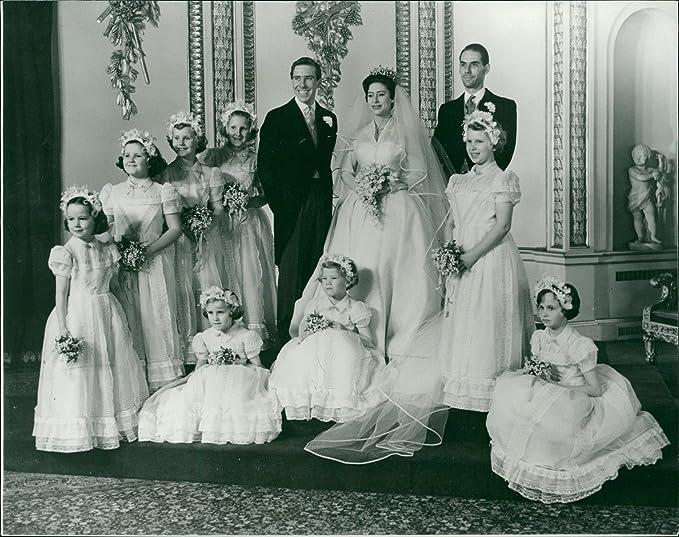 Princess Margaret Wedding.Amazon Com Vintage Photo Of Princess Margaret Wedding