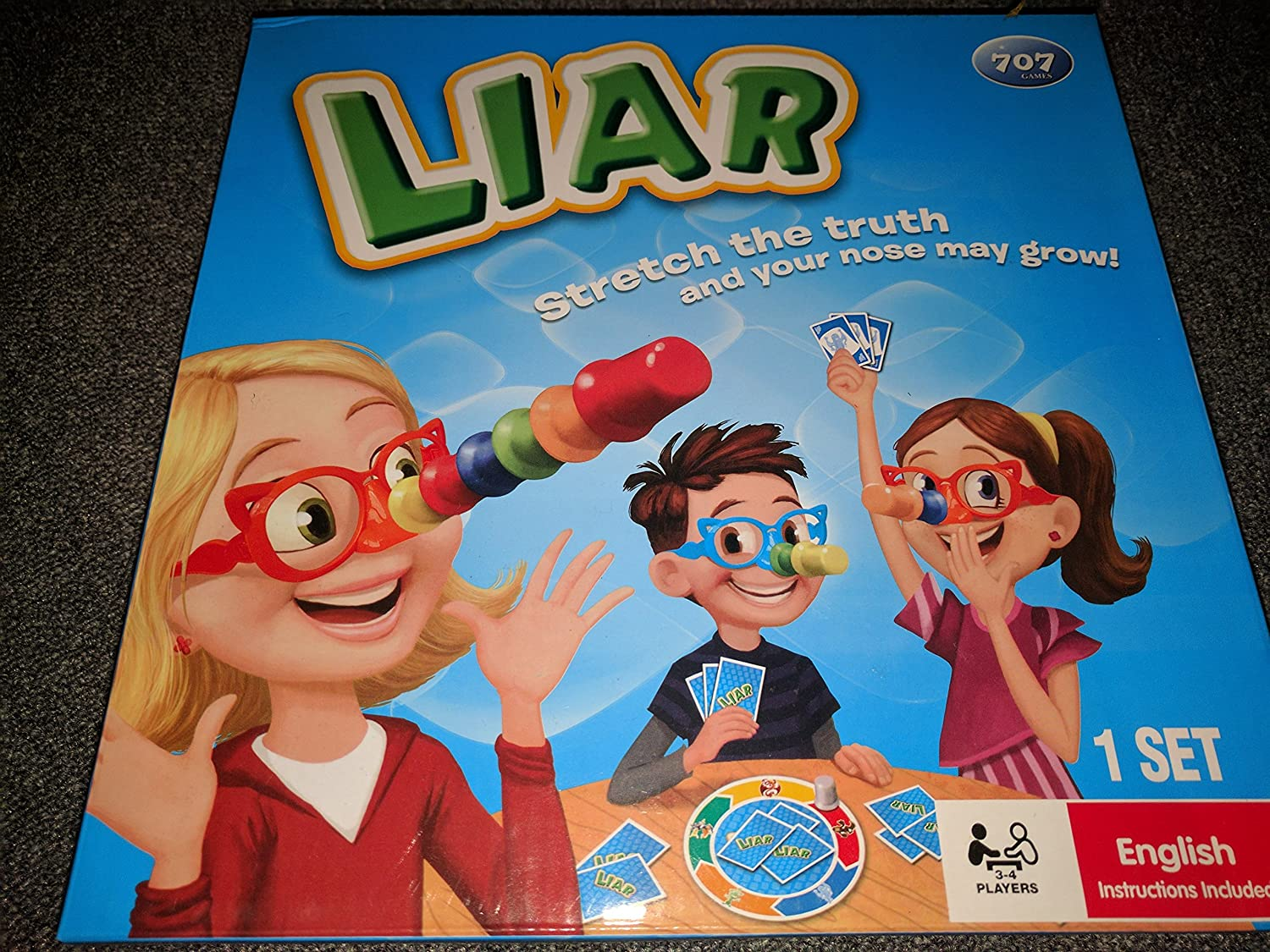 Family Fun Liar Game Stretch The Truth Your Nose May Grow 2 4