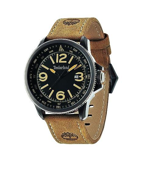Timberland 14247JSBU/02 - Reloj de pulsera hombre, piel, color marrón