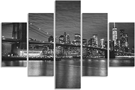 Noir et Blanc Nappe Brooklyn New York étanche