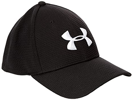 Under Armour Men s UA Blitzing Stretch Fit Cap Combo Large   Extra Large  Black 919612f0378