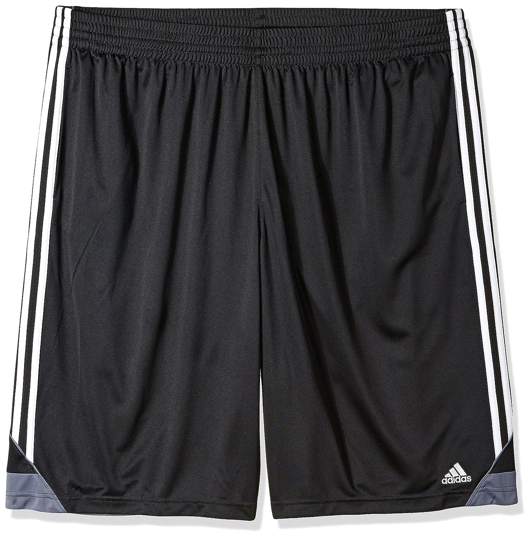 Adidasメンズ3Gスピード ビッグ&トール ショートパンツ B01N4G1IXF 5X-Large|ブラック/ホワイト ブラック/ホワイト 5X-Large