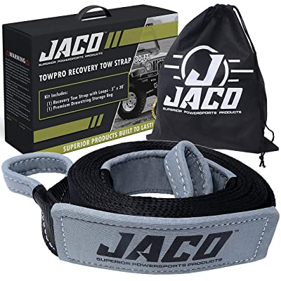 "JACO TowPro Recovery Tow Strap (3"" x 30 ft): Automotive"