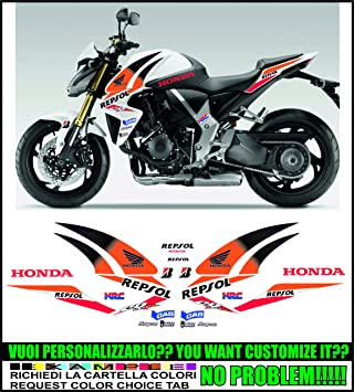 Kit Adesivi Decal Stickers HONDA CB 1000 R REPSOL Ability To Customize The Colors