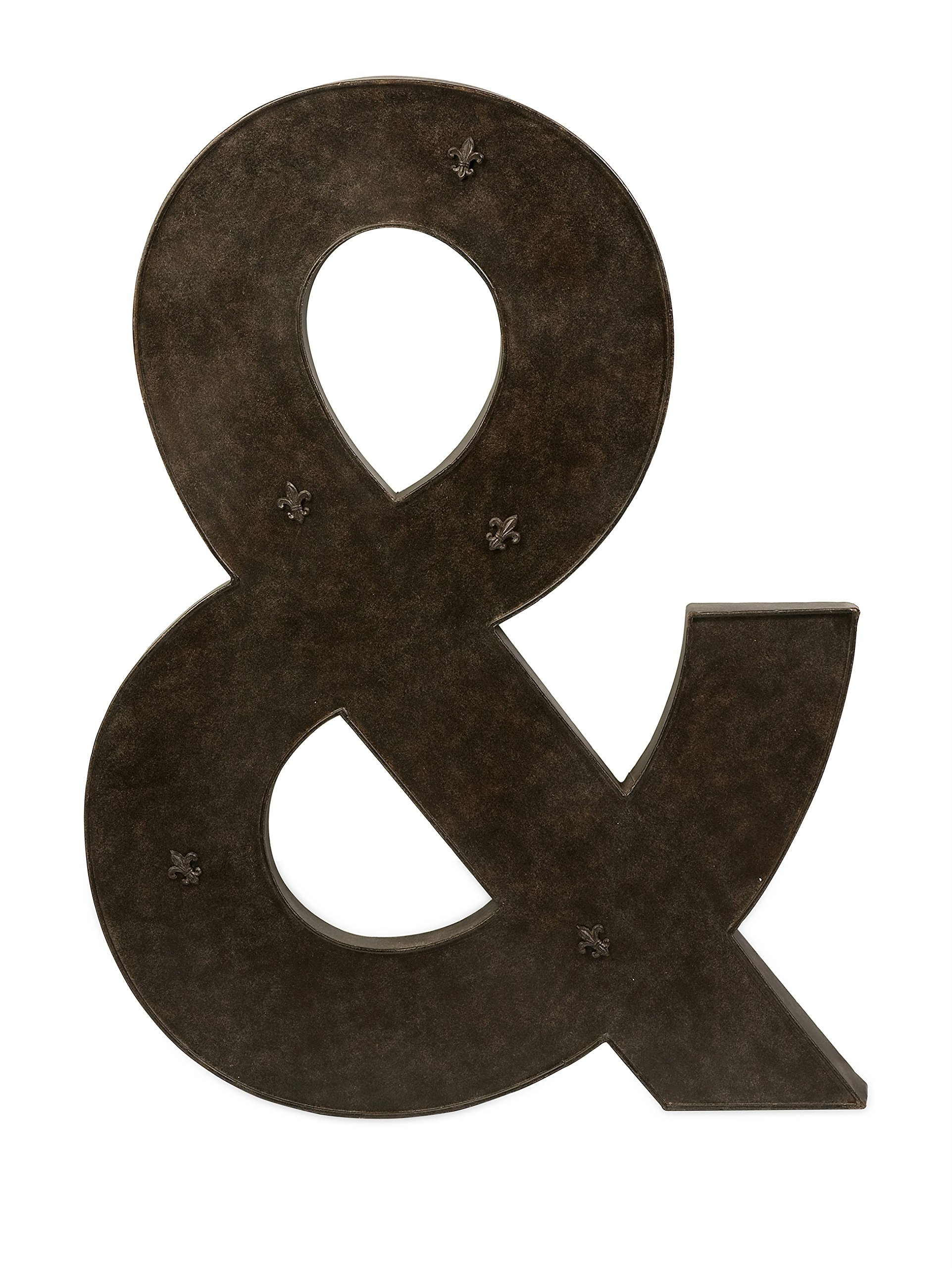 IMAX 74078 Ampersand Metal Magnet Board with Magnets by Imax