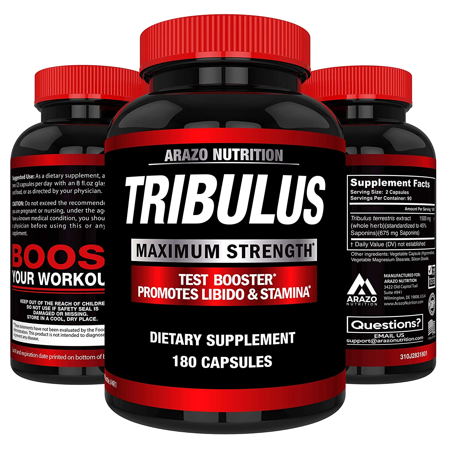 tribulus terrestris testosterone review