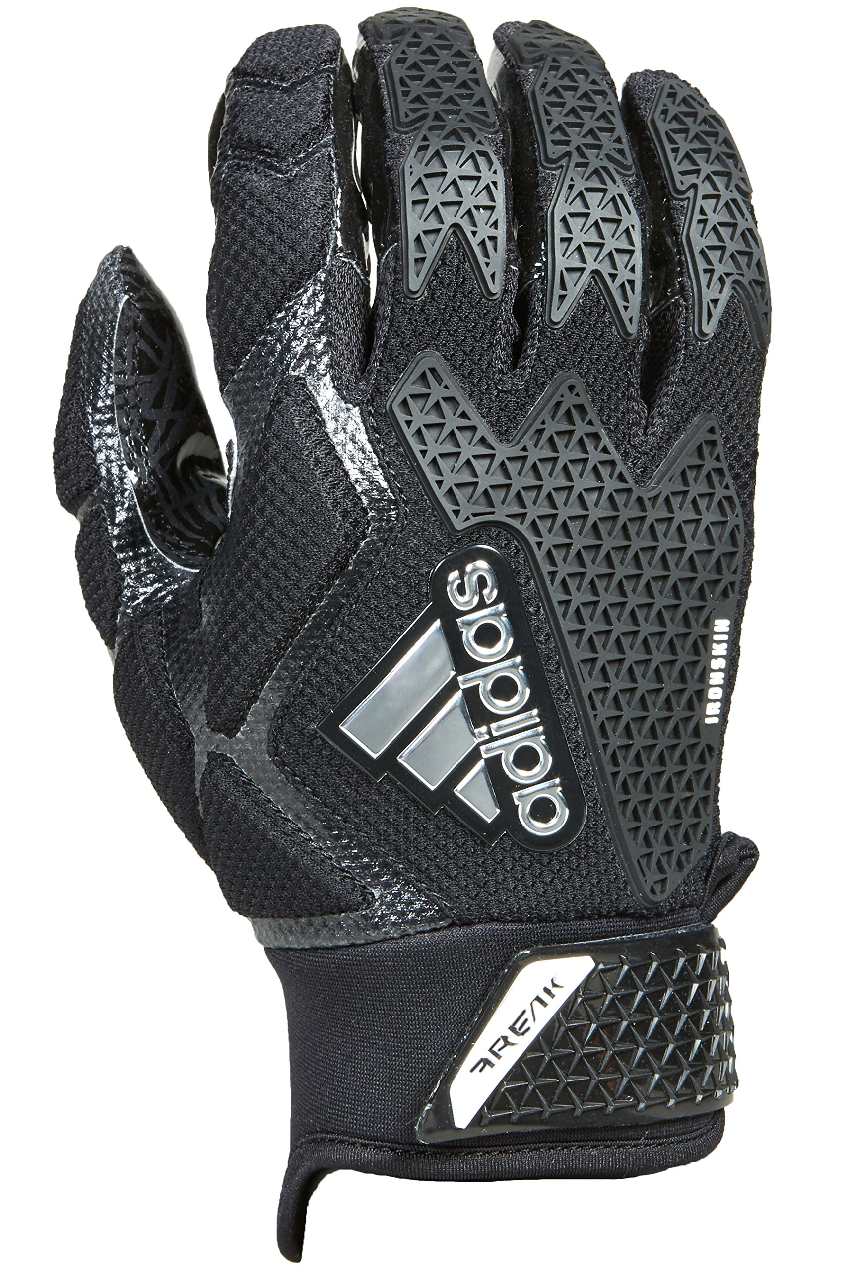 adidas Freak 3.0 Padded Receiver's Gloves, Black, 4X-Large
