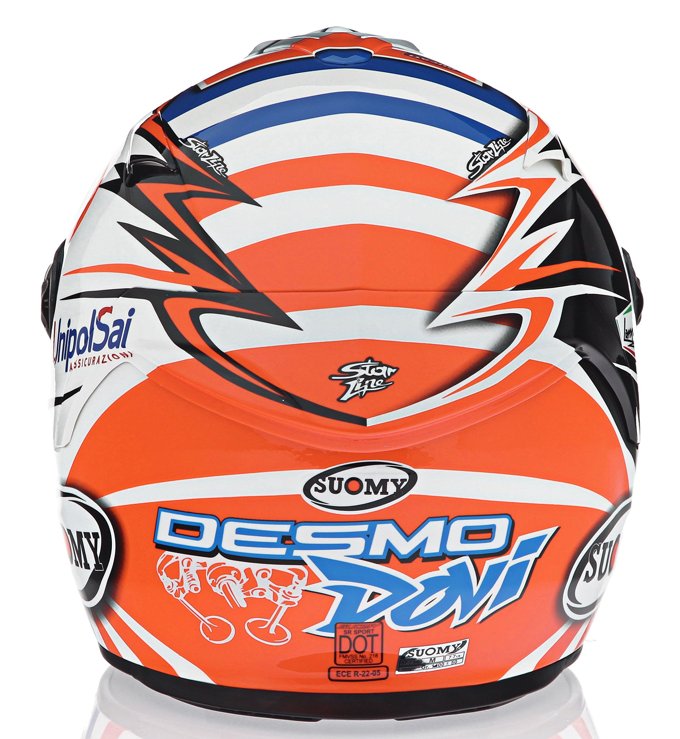 Suomy KTSR0033-MD SR Sport Helmet- DOVI GP DUC Medium by Suomy (Image #4)