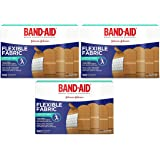 Band-Aid Brand Flexible Fabric Adhesive Bandages For Minor Wound Care, 300 Count
