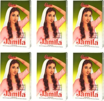 684d6bfa1af1d Amazon.com : Jamila Henna Powder, 6 Individual Packs : Beauty