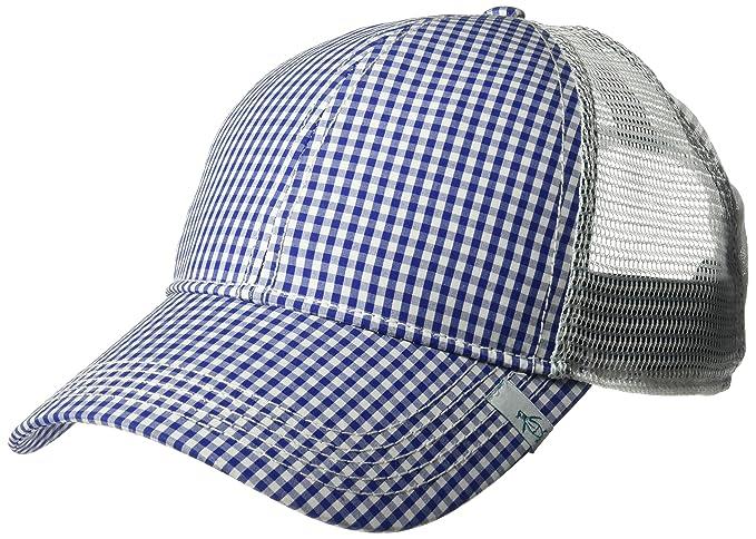 Amazon.com  Original Penguin Men s Gingham Mesh Back Baseball Cap ... 47a8a94d522b
