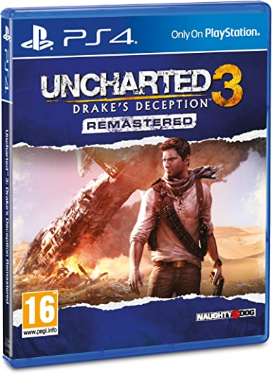 Uncharted 3 Drakes Deception Remastered Ps4 Amazon Co Uk Pc