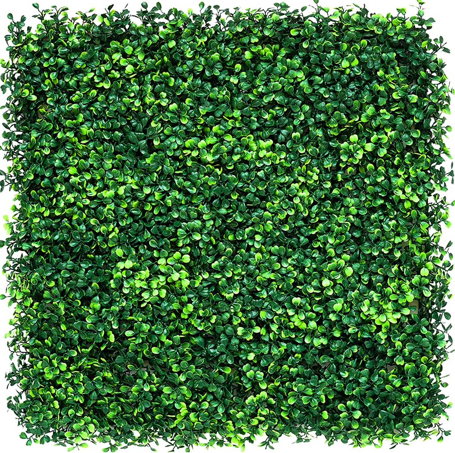 OARA 1Pcs10'x 10'Artificial Boxwood Panels Topiary Hedge Plant Privacy Hedge Screen UV Protected for Indoor Outdoor Home Backdrop Greenery Walls Decor and Backyard Garden Faux Fence Panels Decoration