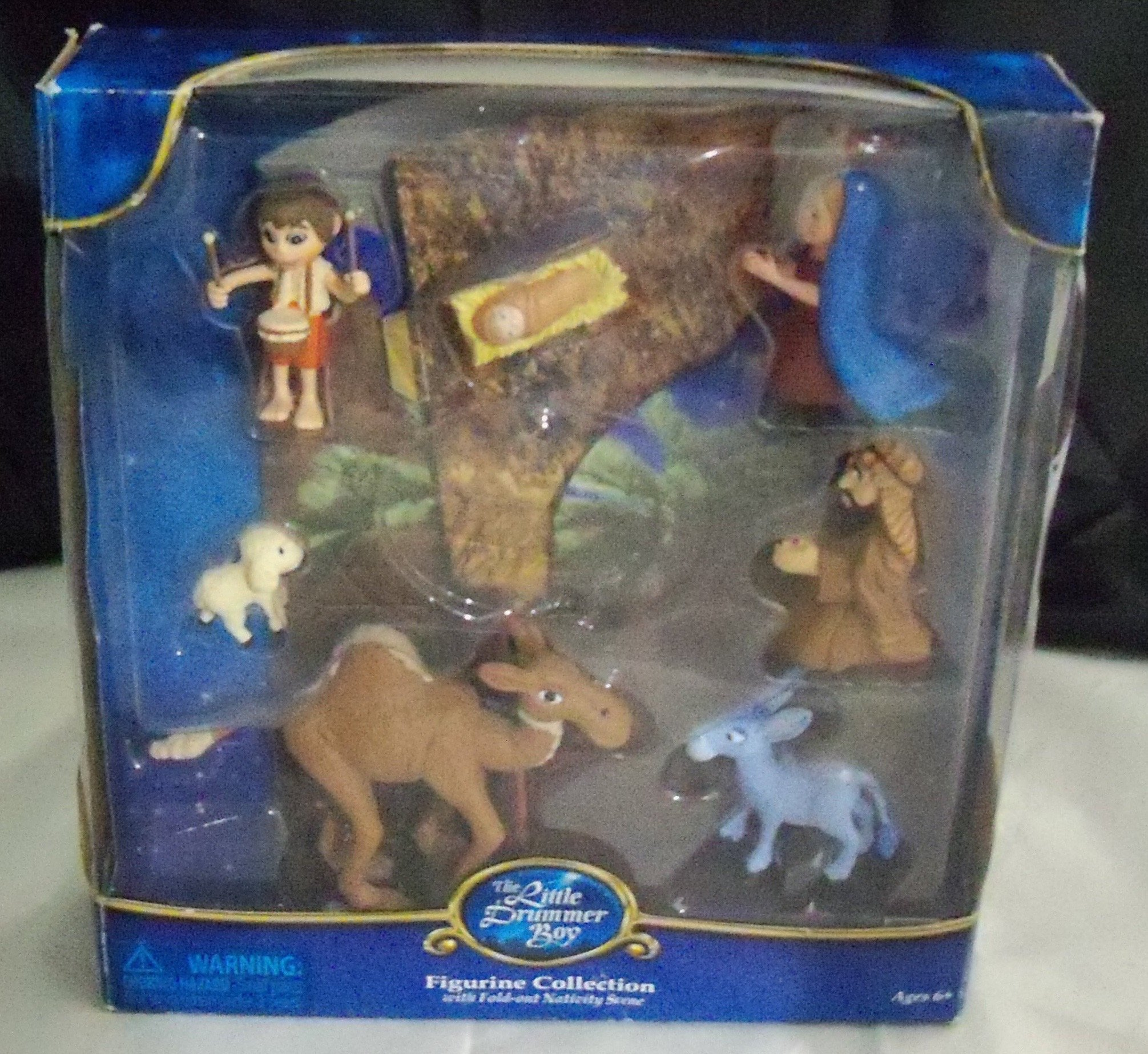 Little Drummer Boy Rankin Bass PVC Figurine Nativity Set