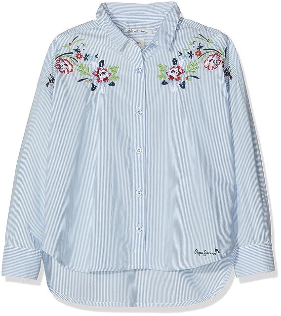 bfe71116b Pepe Jeans Blusa para Niñas  Amazon.es  Ropa y accesorios
