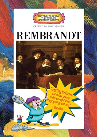 rembrandt artist book dvd set getting to know the worlds greatest artists