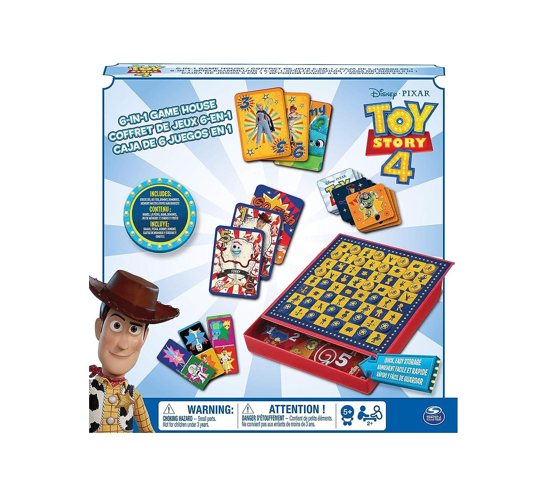 Mattel Games GDJ88 UNO avec Disney Pixar Toy Story 4 enfants et Family Carte