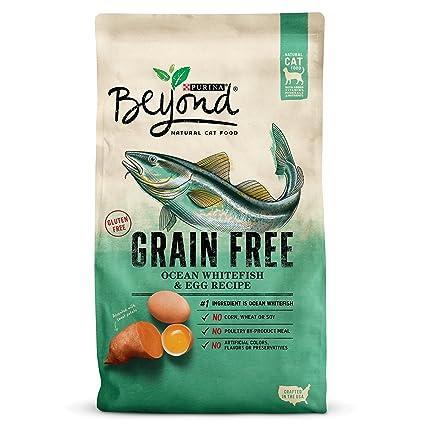 Purina Beyond Cat Food >> Amazon Com Purina Beyond Grain Free Ocean Whitefish Egg Recipe