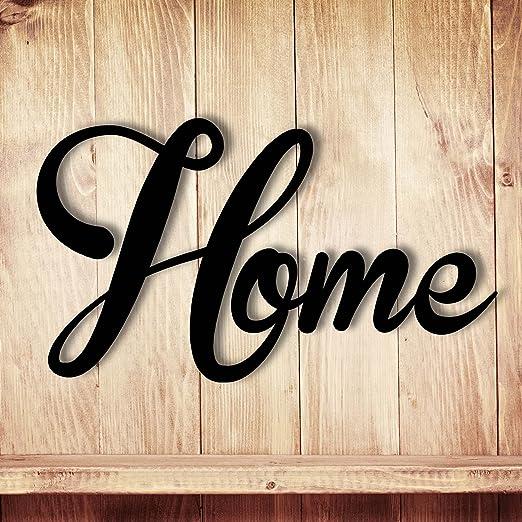 Wanddeko Dekoration Holz Holzschriftzug Schriftzug Home Zu Hause
