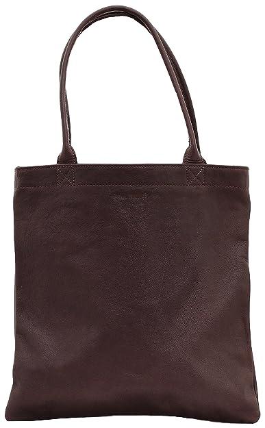 MON PARTENAIRE M Naturel sac à main en cuir cabas fourre-tout style vintage PAUL MARIUS oxE3i
