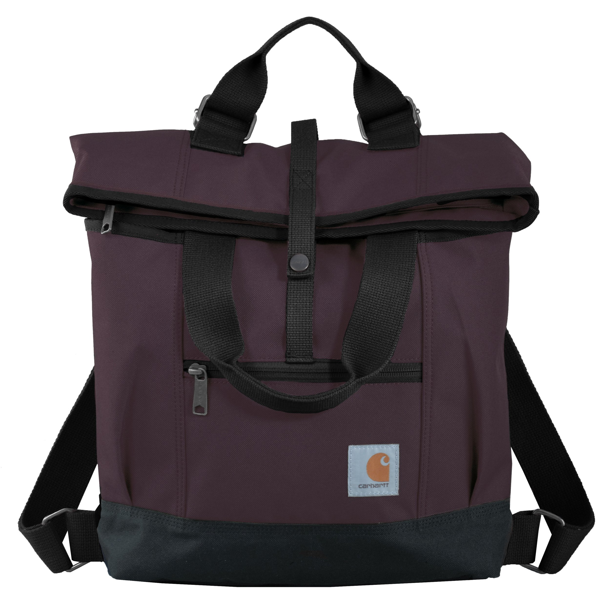 Carhartt Legacy Women's Hybrid Convertible Backpack Tote Bag, Wine