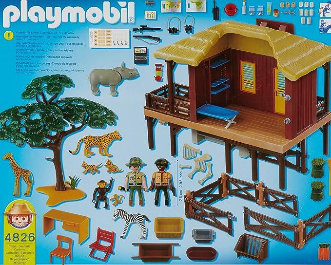 PLAYMOBIL 626693 - Selva Refugio Animales Salvaje: Amazon.es: Juguetes y juegos