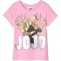 Jojo Siwa Girl's Peace Love and Dance T-Shirt, Pink