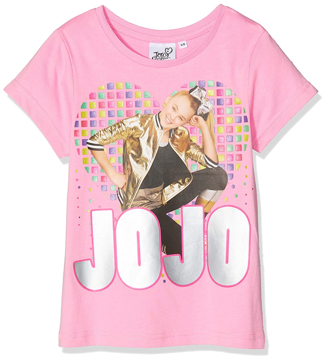 Jojo Siwa Peace Love And Dance, T-Shirt Bambina MO50813