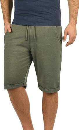 TALLA XL. Blend Antique Pantalón Corto Chándal Sweat- Bermudas para Hombre con Forro Polar Suave Al Tacto
