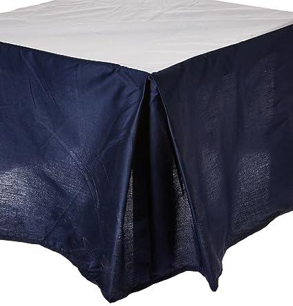 100% algodón peinado cama falda, mejor calidad, largo grapas Cable de – resistente