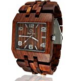 Wood Watch By Gassen James - Men's Style Omega I Rose Wood