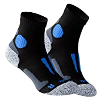 2 Pair Original VCA® Performance Quarter - Running socks SPEED Special Padded protection points, UNISEX