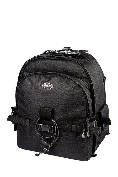 GEM mochila para cámara réflex con funda impermeable y compartimento para portátil Canon EOS 1200d,