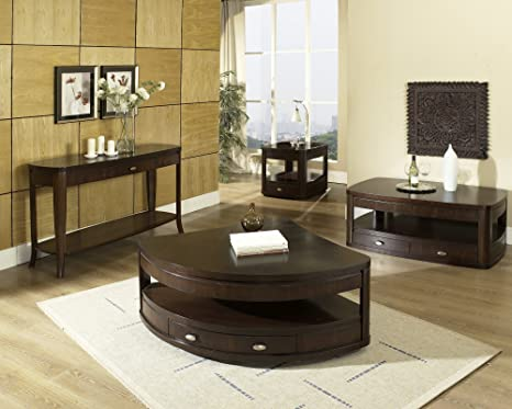 Steve Silver Isabelle Corner Wedge Lift Top Coffee Table