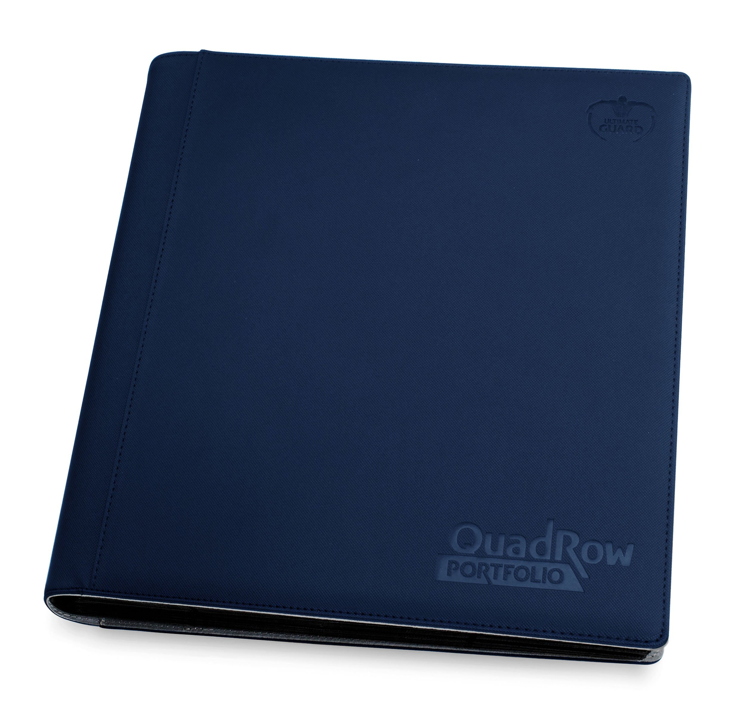 Ultimate Guard Quadrow Portfolio Xenoskin Deck Case, Dark Blue