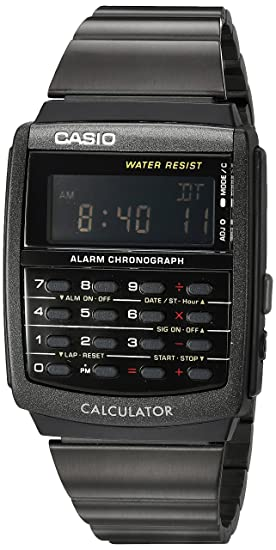 1a 33 Con Movimiento Casio Cuarzo Japonés Mm Reloj Ca 506b Unisex WD2IYE9H
