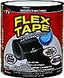 """Flex Tape Rubberized Waterproof Tape, 4"""" x 5', Black"""